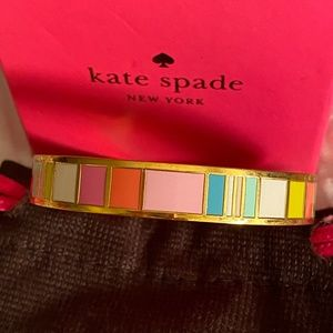 kate spade Idiom Bracelet~ Look on the Bright Side
